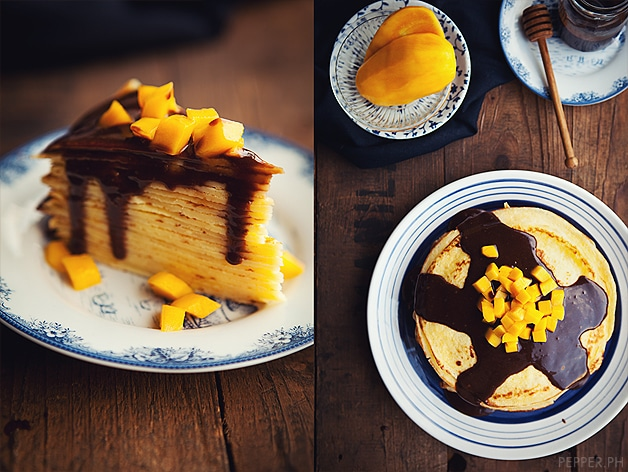 Mango And Nutella Crepes Recipe — Dishmaps
