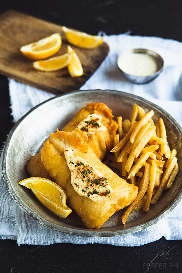How to draw fish and chips for How to make fish and chips