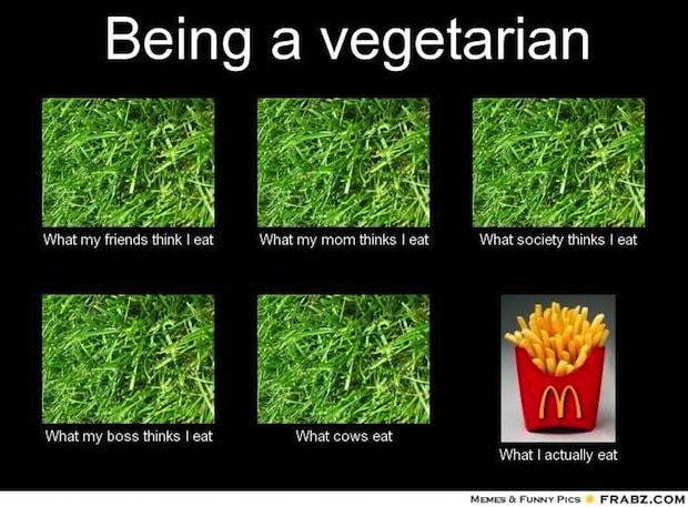 Advice from a vegetarian don t be a vegetarian for Can vegetarians eat fish