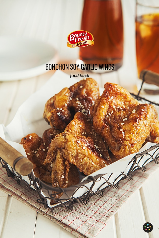 Bonchon Soy Garlic Chicken Wings Recipe