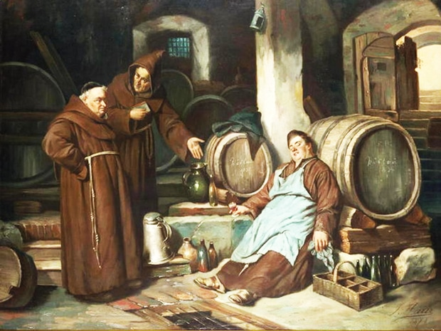 Friar loves the drink