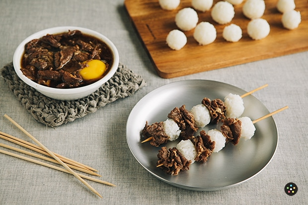 Gyudon on a Stick1