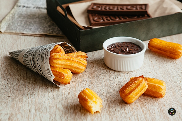 Nestle Crunch Chocolate Mocha Dip Churros2