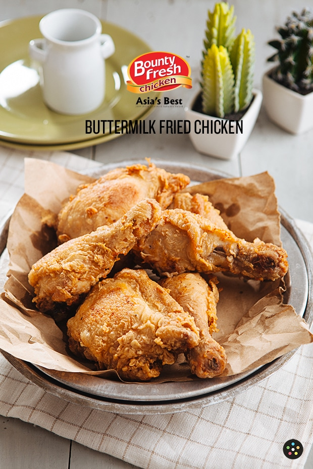 Buttermilk Fried Chicken3 with logo
