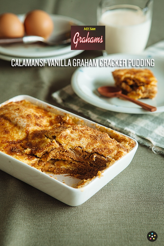 Graham Calamansi Vanilla Bread Pudding WITH LOGO