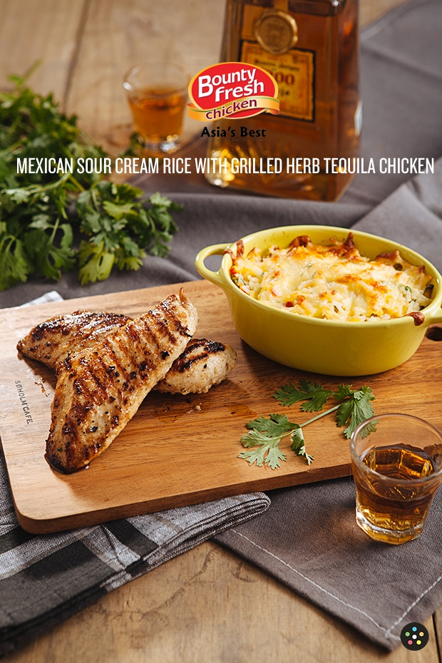 For Sunday's Dinner: Mexican Sour Cream Rice with Grilled Herb ...