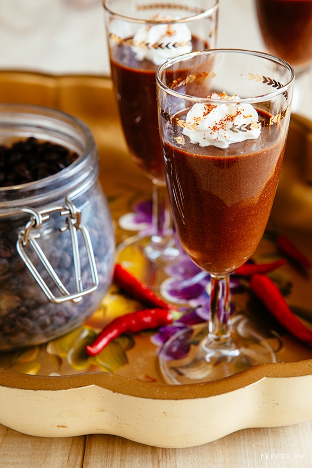 Chili Chocolate Mousse1