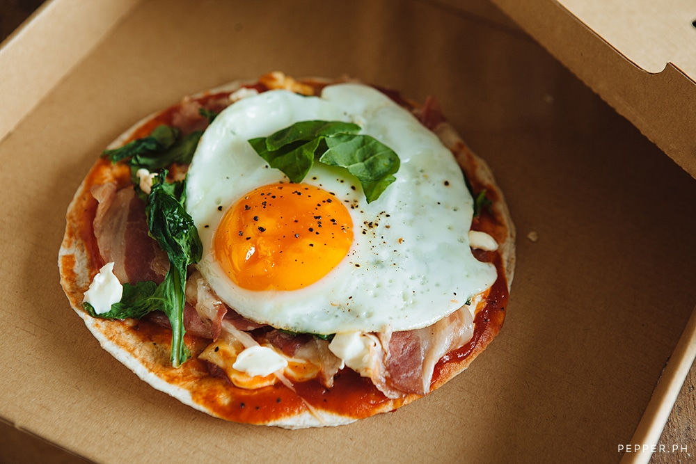 Breakfast Tortilla Pizza: A Great Excuse to Drink Beer in the Morning