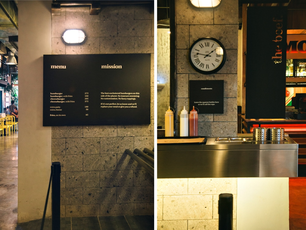 Menu - Counter