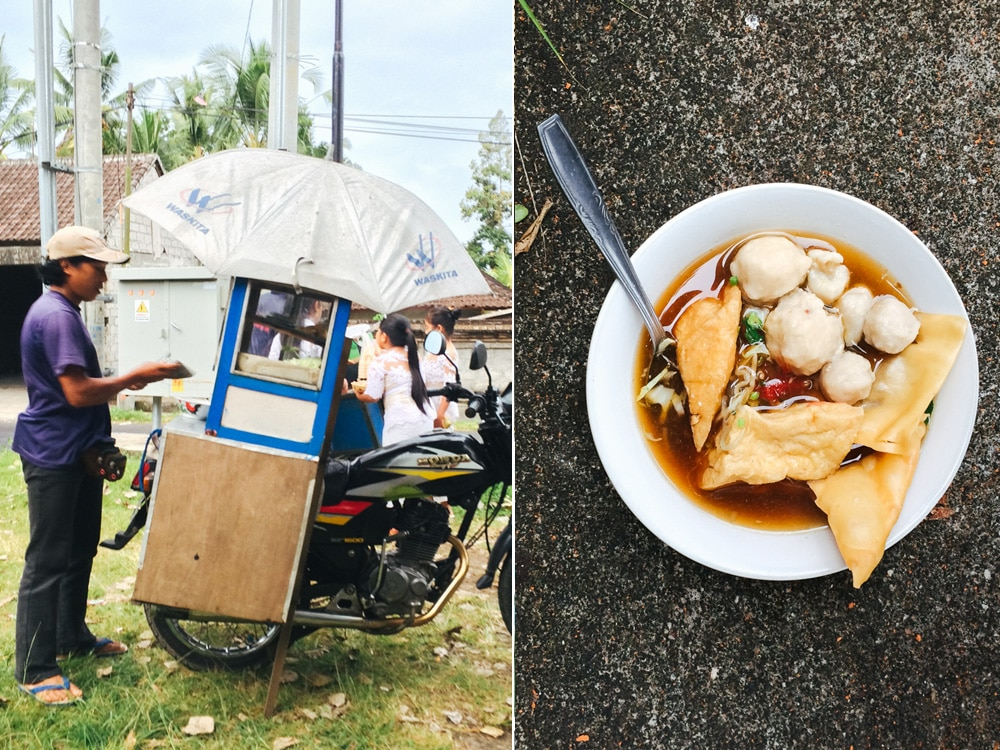 Street food in Ubud (forgot what its called)