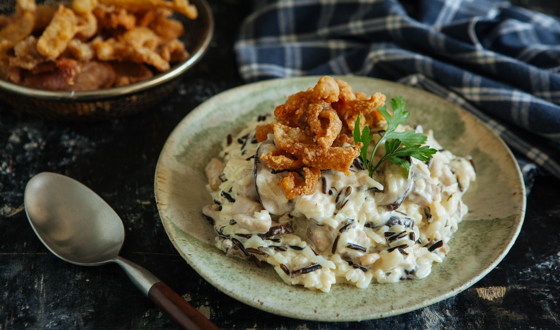 risotto-crispy-chicken-skin-featured-image