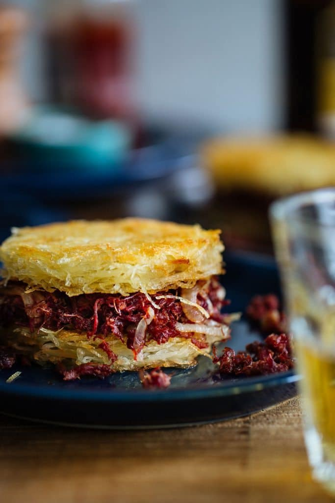 Corned Beef Rösti Burger