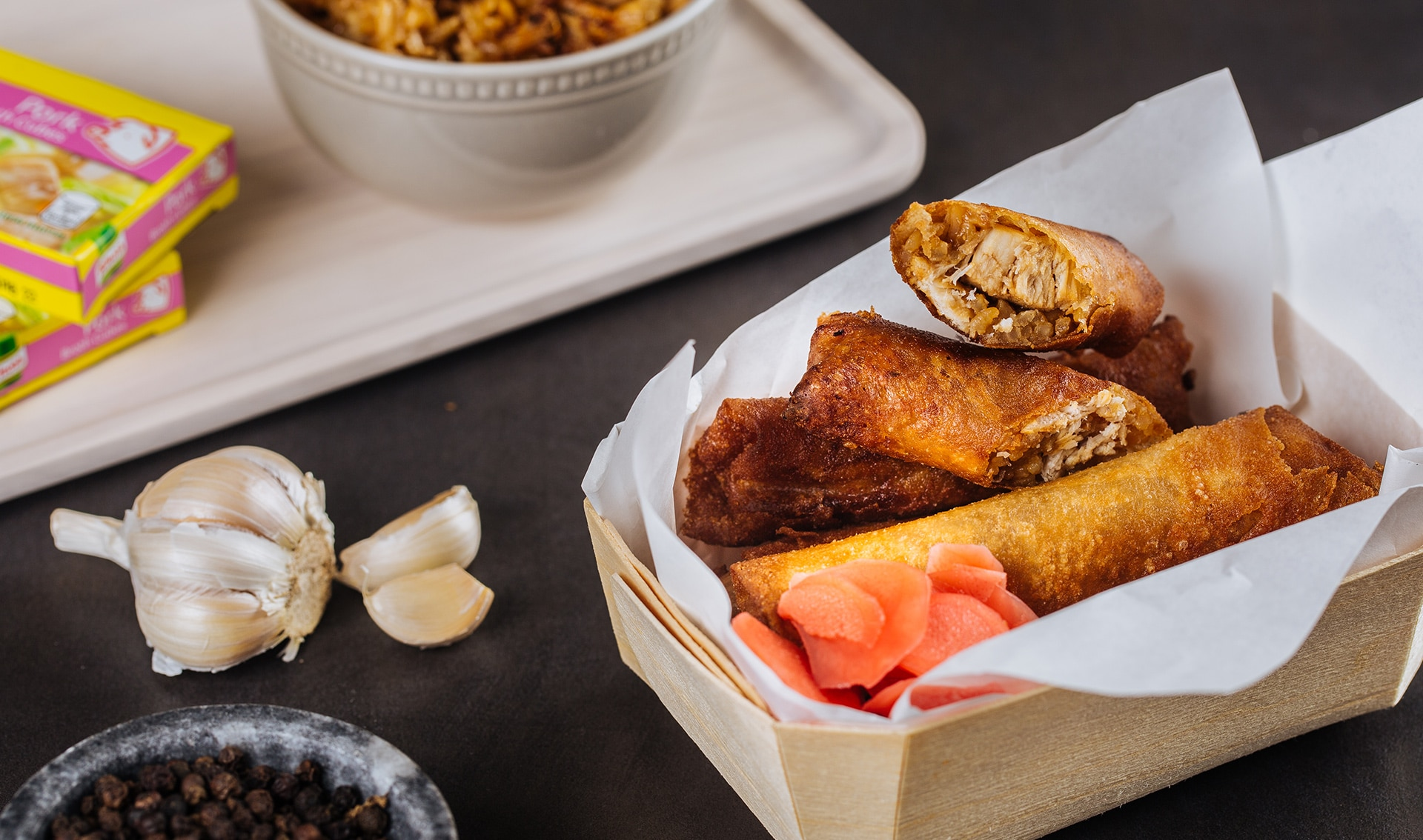 This adobo rice lumpia recipe pays homage to og filipino website this adobo rice lumpia recipe pays homage to og filipino website panlasang pinoy ccuart Images