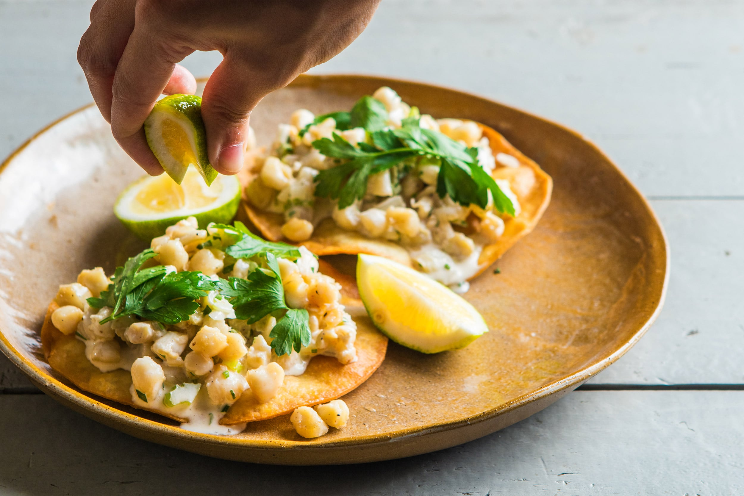 Lobster Rolls Can Step Aside for Our Scallop Tostada